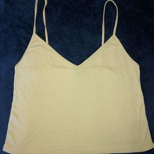 Forever 21 Spaghetti Strap Cropped Tank